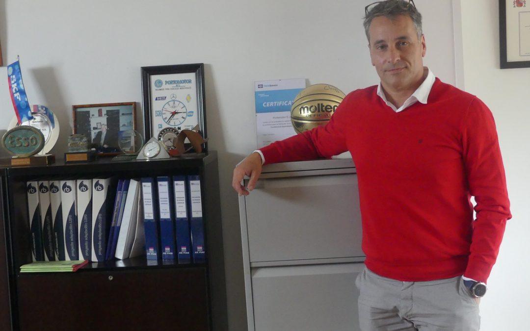 «Los cambios en la movilidad van a exigir un reciclaje permanente de los técnicos e inversiones para estar a la altura de lo que el mercado demande.», Marcos Alonso, Portomotor