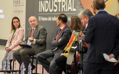 Mesa de Debate: «Necesitamos más visibilidad y diálogo entre profesionales y empresarios de la posventa de V.I.». Con Antonio Atiénzar (Cetraa), Nuria Álvarez (Conepa), Arsenio González (Aervi), Eduardo González (Continental) y Eva Raquel Hernández (Bosch)