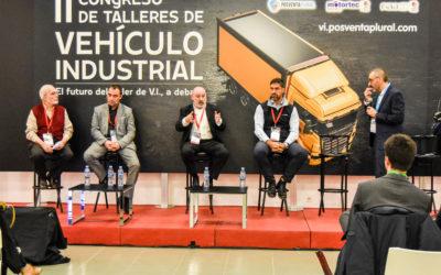 """Mesa de Debate: """"Los talleres de vehículo industrial que están adheridos a una red son más eficientes y rentables"""". Con José Moreno (Top Truck), Vicente Verdeguer (ADR Service), Francisco Albarrán (Alltrucks) y Guillermo de Llera (IF4)"""